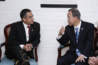 Secretary-General Meets Mayor of Quito, Ecuador