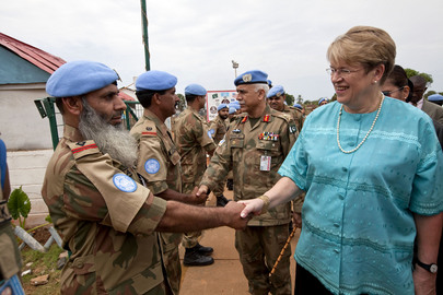 Special Representative of the Secretary-General Visits Liberia