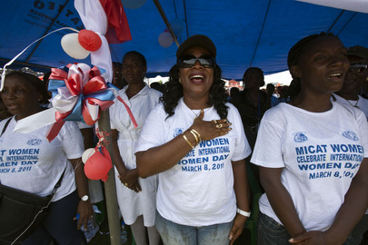 Liberia Celebrates International Women's Day