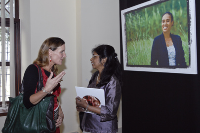 UNMIT Launches Photo Exhibit for 100th Women's Day