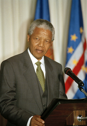 President of South Africa Addresses Luncheon at United Nations Headquarters
