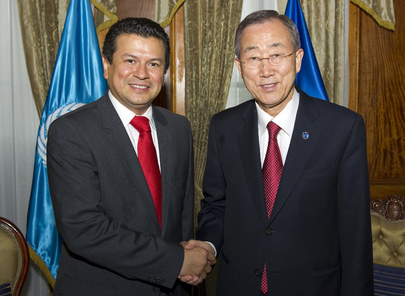 Secretary-General Meets Foreign Minister of El Salvador in Guatemala City