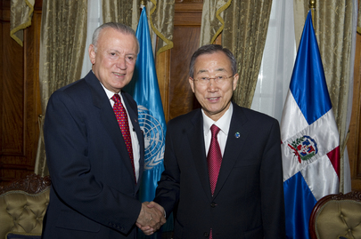 Secretary-General Meets Vice President of Dominican Republic in Guatemala City