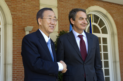 Secretary-General Meets Spanish Prime Minister in Madrid