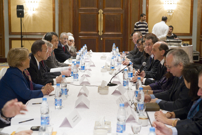 Secretary-General Meets Egyptian Civil Society Representatives