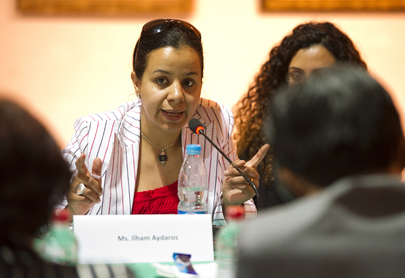 Secretary-General Holds Roundtable with Egyptian Youth Activists