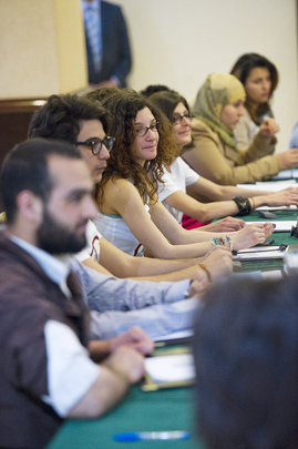 Secretary-General Holds Roundtable with Tunisian Youth