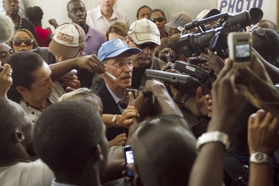 MINUSTAH Oversees Elections in Haiti