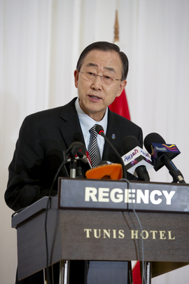 Secretary-General Addresses Tunisian Civil Society