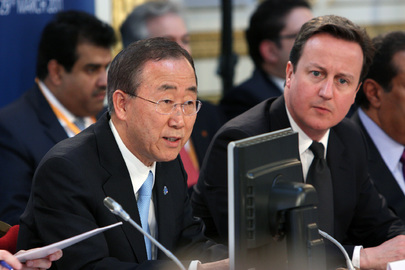 Secretary-General Addresses London Summit on Libya