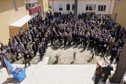 UNAMA Holds Memorial Ceremony for Staff Lost in Mazar-i-Sharif