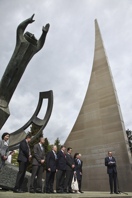 UN in Geneva Commemorates 50th Anniversary of Gagarin's Space Flight