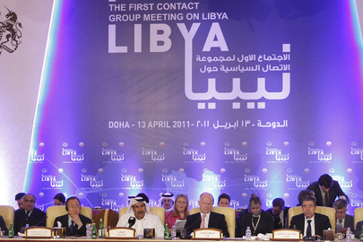 Secretary-General Attends First Contact Group Meeting on Libya