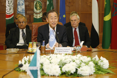 Secretary-General Co-chairs Cairo Meeting on Libya