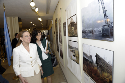 "Exhibition ""25 years after Chernobyl: Cooperation for Sustainable Development"""