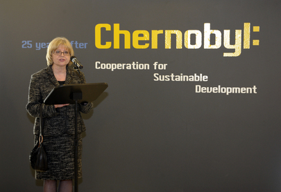 25 Years after Chernobyl Opens at UN Headquarters
