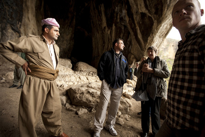UN Mission Officials Visit Iraqi Archaeological Site