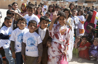 Iraqi Schoolchildren Celebrate World Water Day