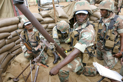 ONUB Peacekeepers Engage in Military Exercises