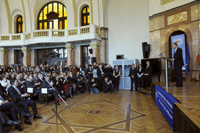 Secretary-General Speaks at Sofia University, Bulgaria