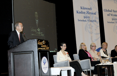 Secretary-General Receives Gender Equality Award