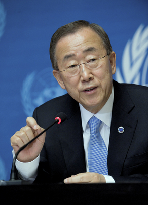 Secretary-General Briefs Press in Geneva