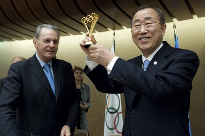 Secretary-General Attends 2nd Forum on Sport for Peace in Geneva