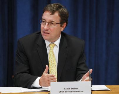 Subsecretário Geral das Nações Unidas e Diretor Executivo do Programa das Nações Unidas para o Meio Ambiente (PNUMA), Achim Steiner