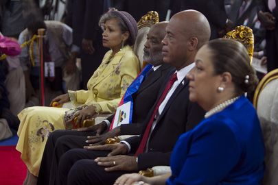Haiti Inaugurates New President Michel Martelly