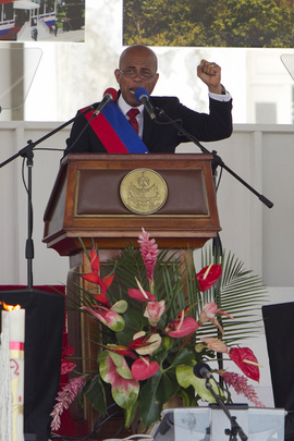 Haiti Inaugurates New President Michel Martelly
