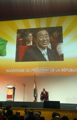 President Ouattara Inaugurated in Côte d'Ivoire