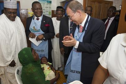 Secretary-General Visits Hospital in Abuja, Nigeria