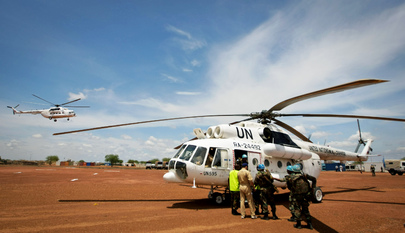 Peacekeeping Reinforcements Arrive in Abyei