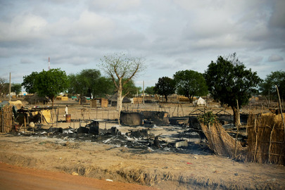 Aftermath of Attack on Abyei
