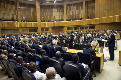 Secretary-General Addresses Extraordinary AU Summit on Peace and Security Issues in Africa