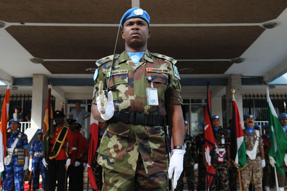 Honouring UN Peacekeepers