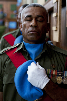Medal Ceremony for UNAMI Guards