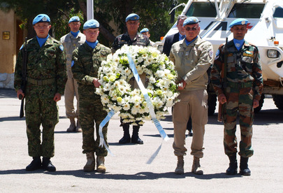 Commemorating Fallen UNDOF Peacekeepers