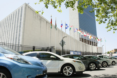 Electric Cars at UN as General Assembly Meets on Green Economy