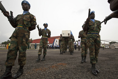 Fallen Peacekeeper Sent Home to Ghana