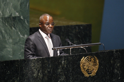 Health Minister of Congo Addresses Opening of HIV/AIDS Summit