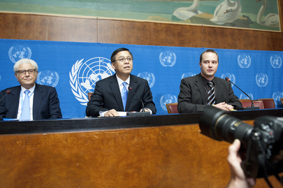 Press Conference on Alleged Violations of International Human Rights Law in Libya