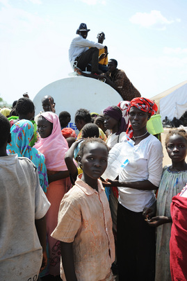 Thousands Fleeing Fighting in Kadugli Seek Refuge in Area Secured by UNMIS