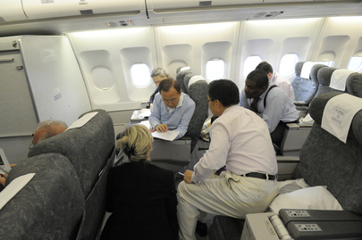 Secretary-General's Buenos Aires Flight Diverted to Cordoba, Argentina