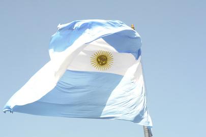 Argentinean Flag at Casa Rosada, Buenos Aires