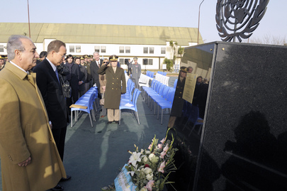 Secretary-General Lays Wreath at Annabi Monument in Argentina