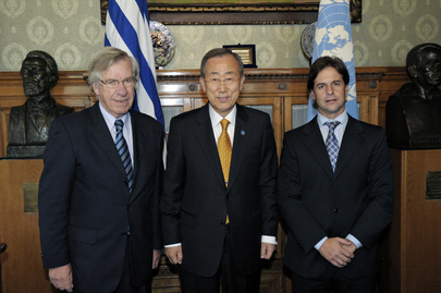 Secretary-General Meets Parliamentary Leaders of Uruguay