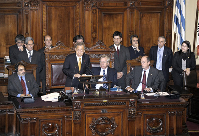 Secretary-General Addresses Parliament of Uruguay