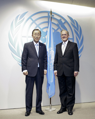 Ban Ki-moon Appointed to Second Term as Secretary-General