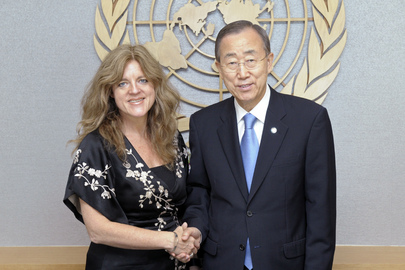Secretary-General Meets Special Representative Designate for South Sudan